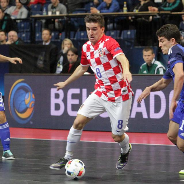 Dario Marinović na Europskom prvenstvu 2016. u Beogradu foto: Tonči Vlašić