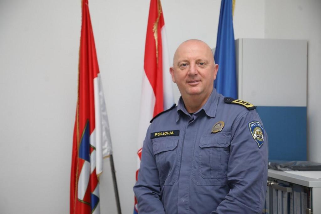 Ivan Pavličević, načelnik PU Dubrovačko-neretvanske