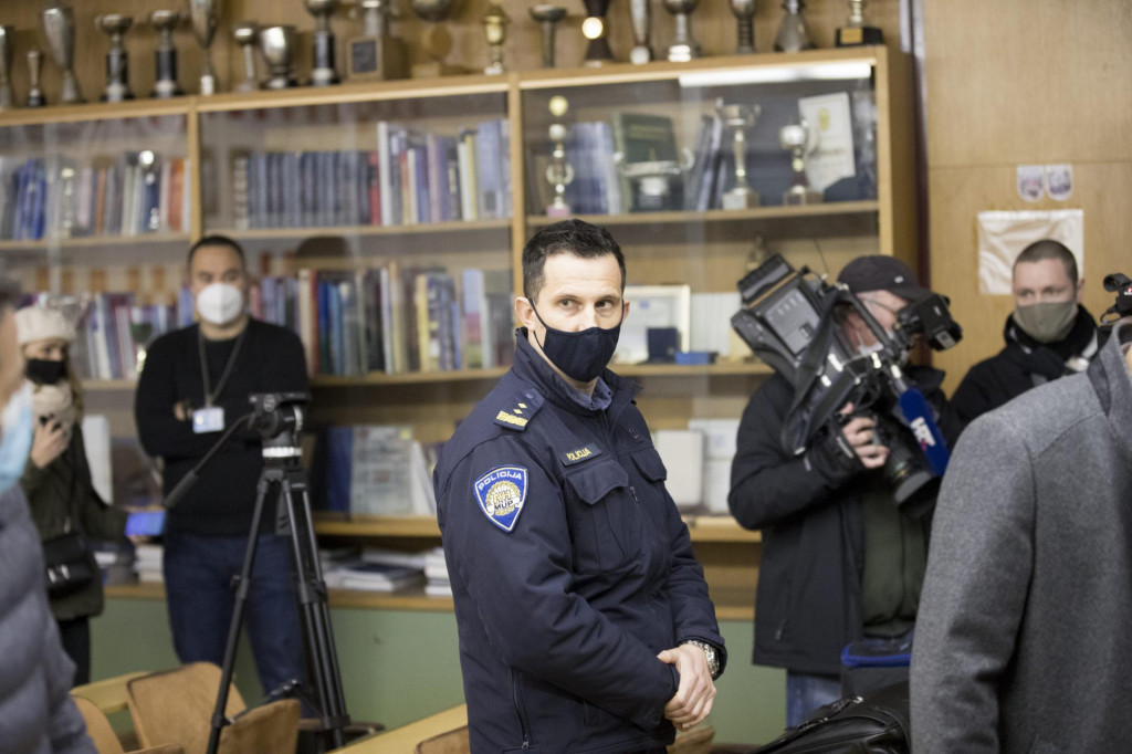 Matko Klarić na disciplinskom sudu u Splitu