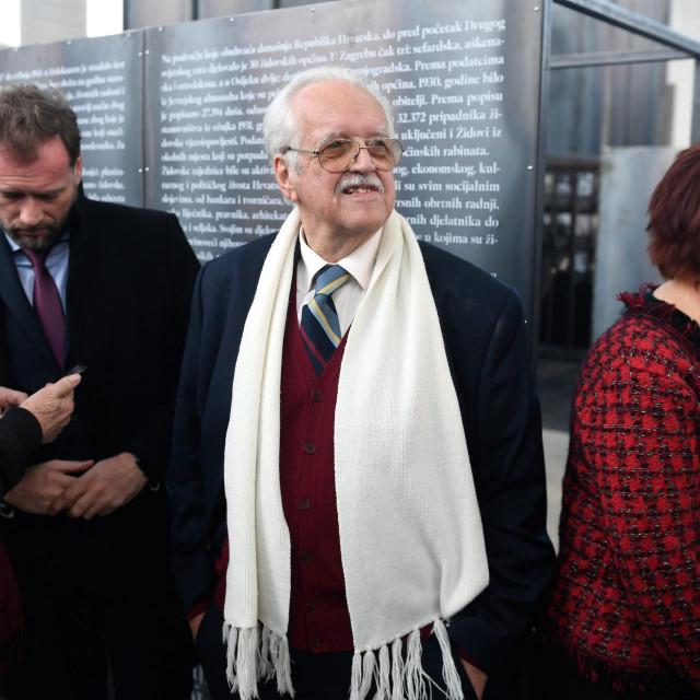 Oleg Mandić, preživjeli iz logora Auschwitz
