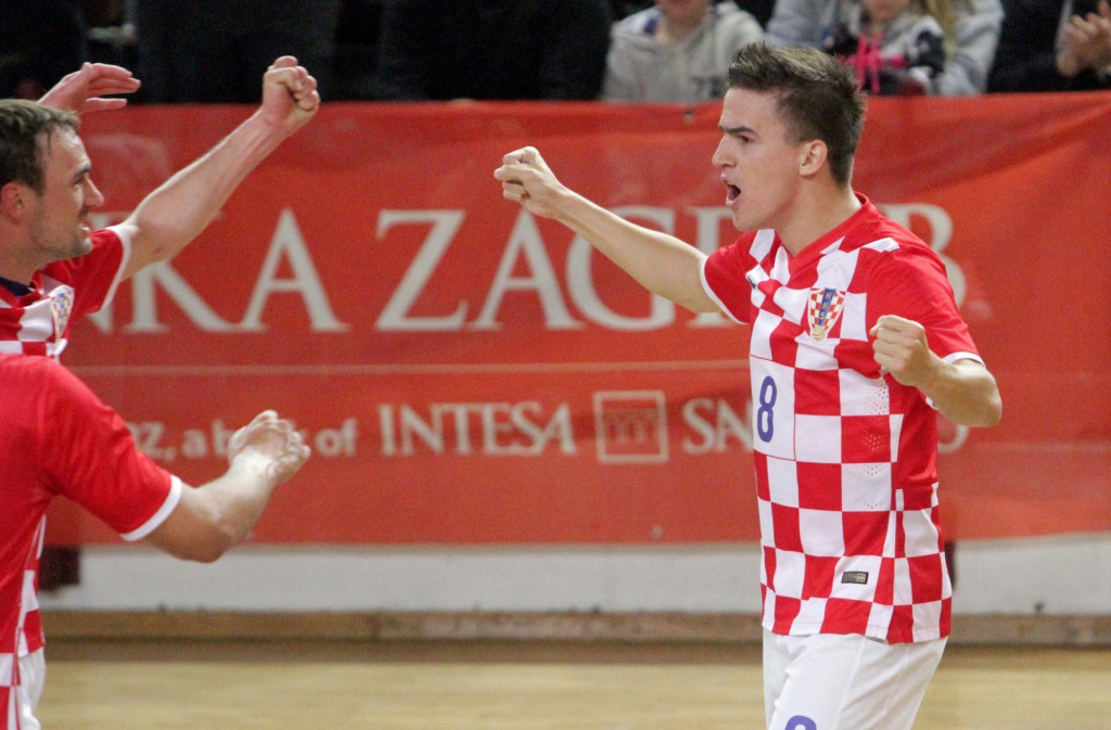 Dario Marinović iz Mokošice, hrvatski malonogometni reprezentativac foto: Tonči Vlašić