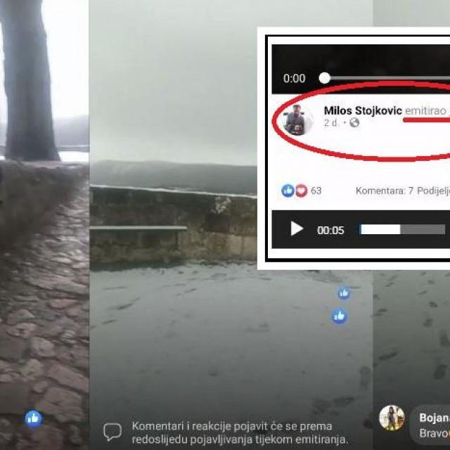 Video u kojem se Stojković obratio pratiteljima