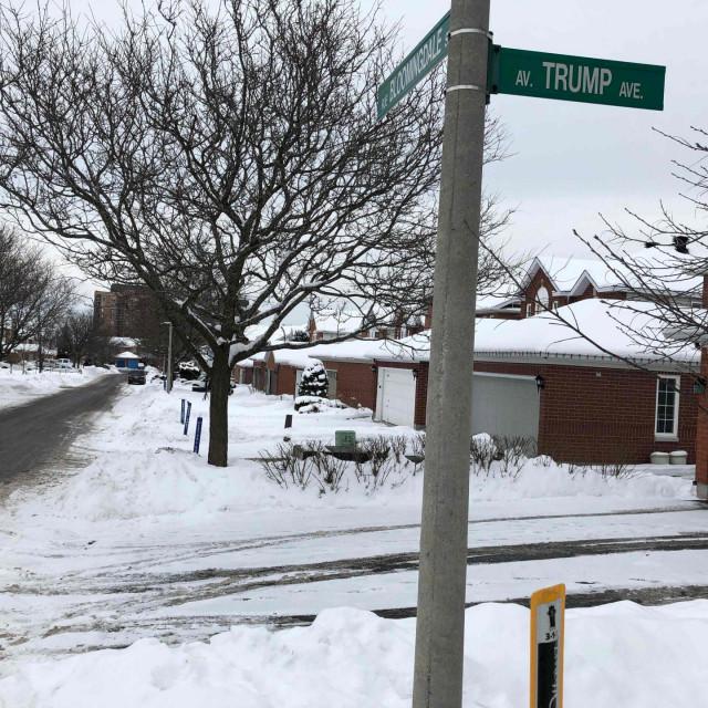 The 'Trump Avenue'