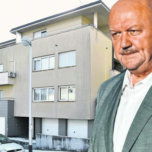 Zgrada na adresi Dobri dol i general Marijan Mareković, šef Pletera