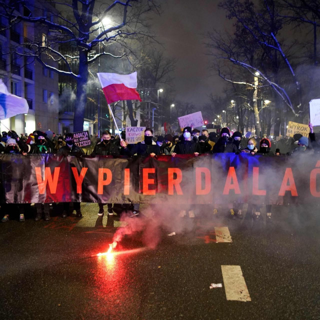 Nemiri i prosvjedi u Poljskoj