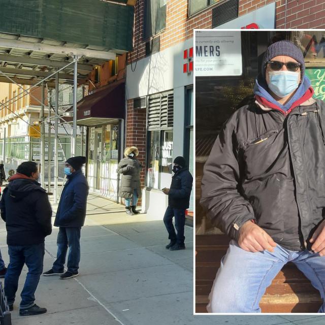 Naš novinar i red ispred klinike u kojoj se vrši testiranje na koronavirus