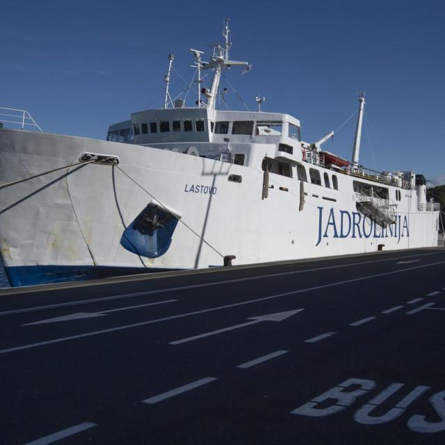 Dika i ponos Jadrolinijine flote, legendarni trajekt 'Lastovo'