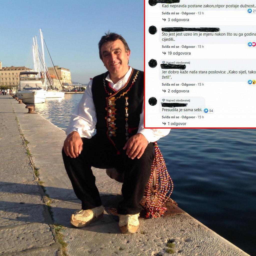 Branko Koloper i komentari na Facebooku
