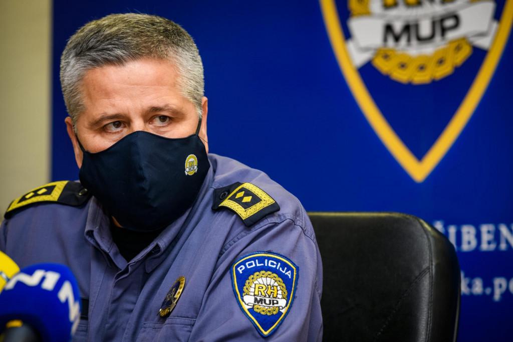 Načelnik PU šibensko-kninske Ivica Kostanić