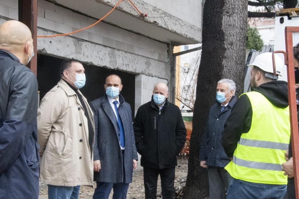Radovi na Dnevnoj bolnici Metković teku planiranom dinamikom