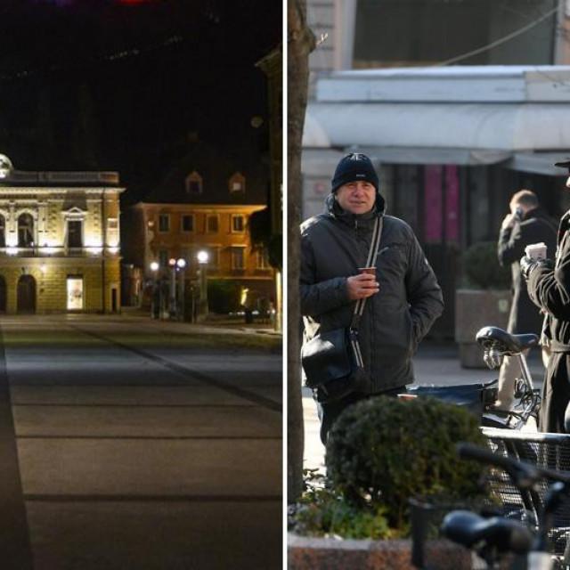 Ljubljana i Zagreb