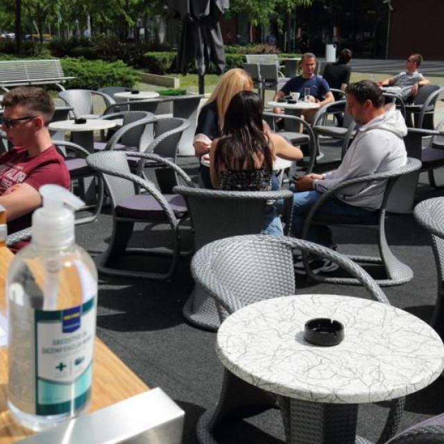 Hoćemo li uskoro na piće na terase?