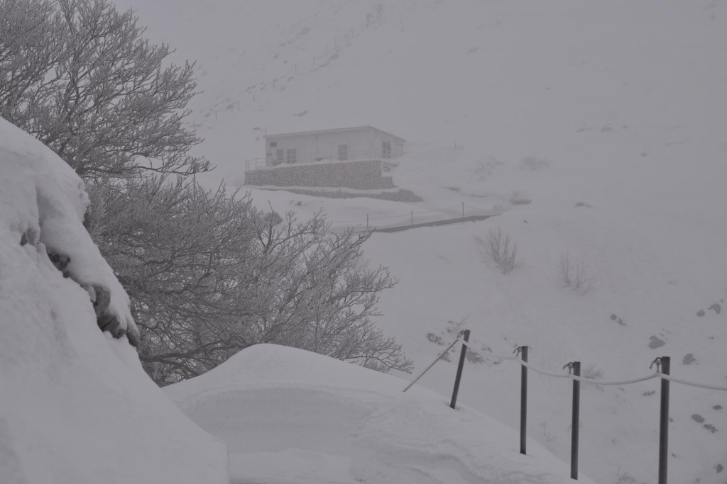 Planinarska kuća ispod Svetoga Jure