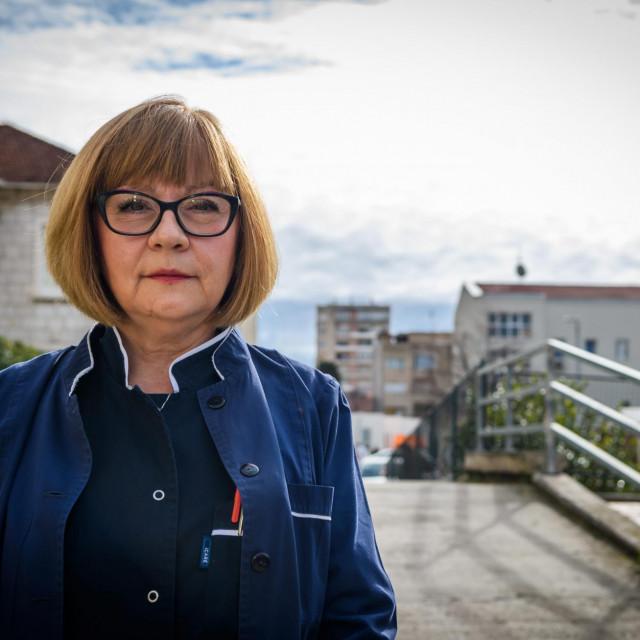 Snježana Jušić, glavna sestra Opće bolnice Šibenik