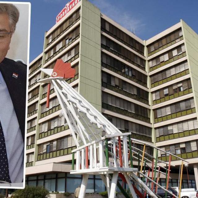 Sjedište Podravke, Andrej Plenković