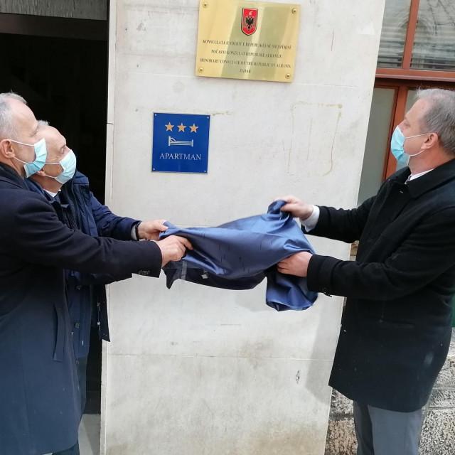 Otvaranje počasnog konzulata Republike Albanije u Zadru