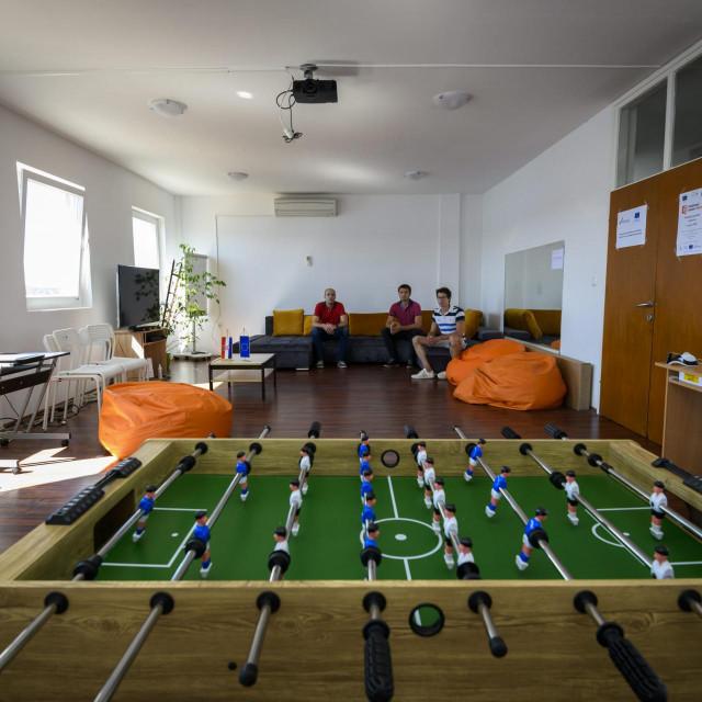 Novouređene prostorije Društvenog centra udruge 'Mladi u EU'
