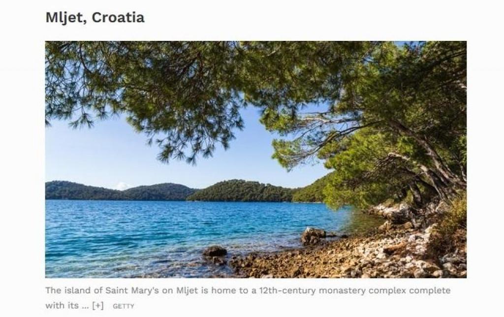 Forbes uvrstio Mljet u top 5 neotkrivenih otoka