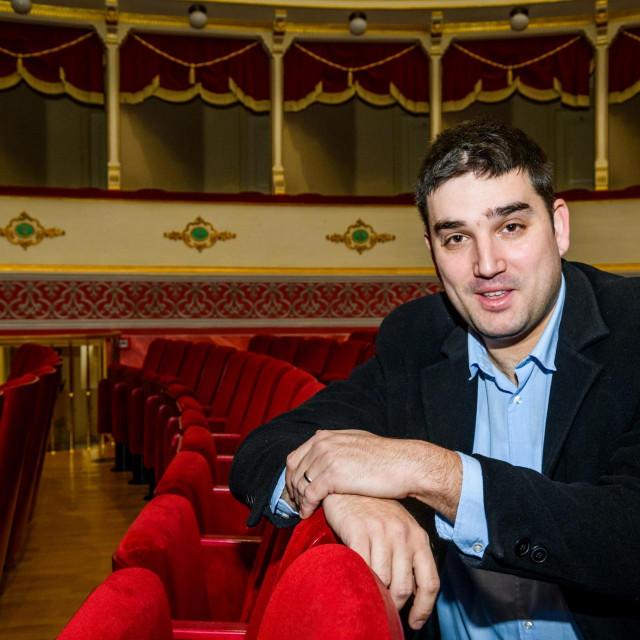 Jakov Bilić, ravnatelj Hrvatskog narodnog kazališta Šibenik<br />