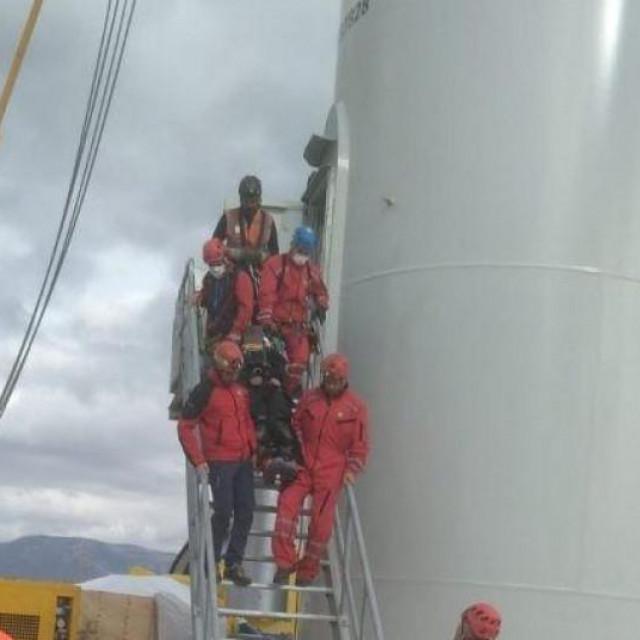 Gorska služba spašavala radnika u vjetroelektrani