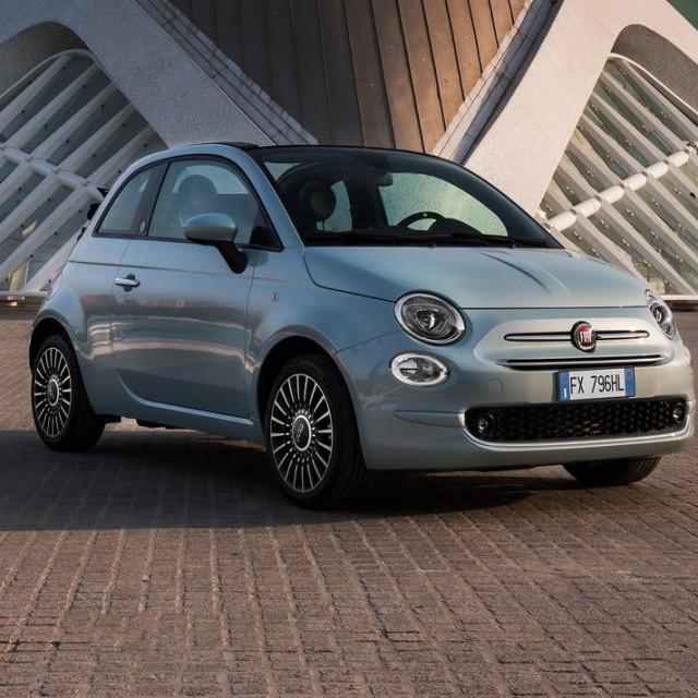 Fiat 500 najprodavaniji je model u siječnju na našem tržištu