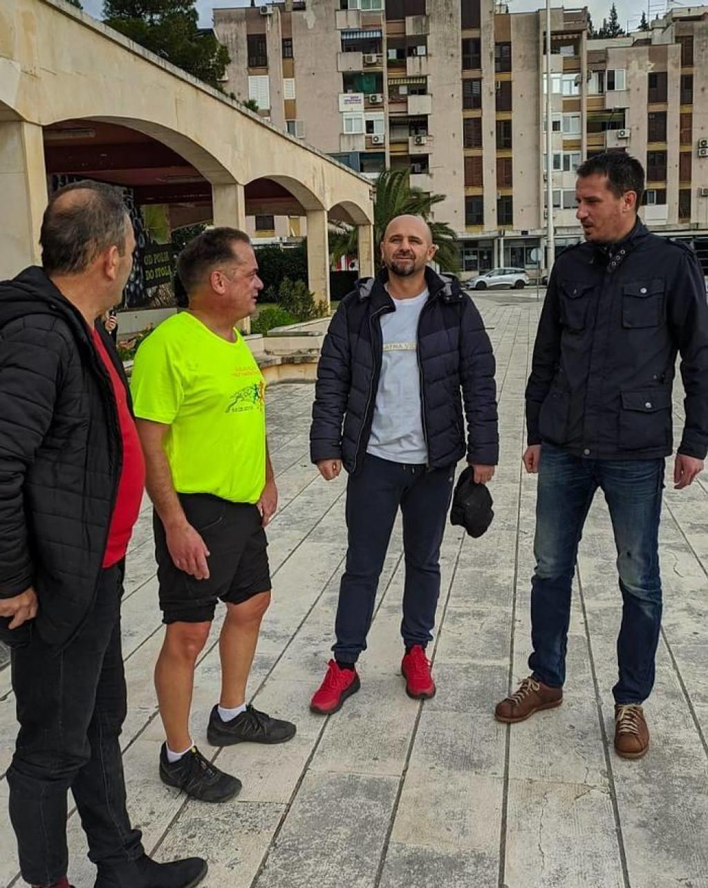 humanitarni maraton za Odjel dječje onkologije KBC Split