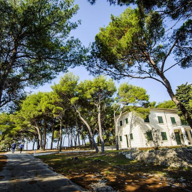 Otok Smokvica kod Rogoznice, 270917.<br /> Delozacija Ante Lusica,tvrtke Grafoplast sa otoka Smokvica na kojem je godinama ljetovala obitelj Todoric.<br />