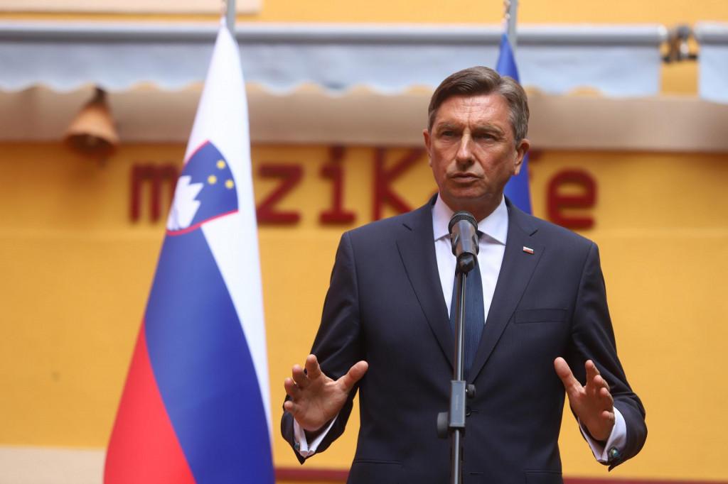 Slovenski predsjednik Borut Pahor