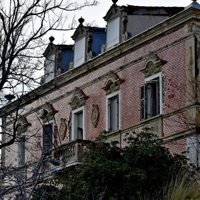 Vila Rosina izgrađena je 1901. godine doživjet će kompletnu restauraciju