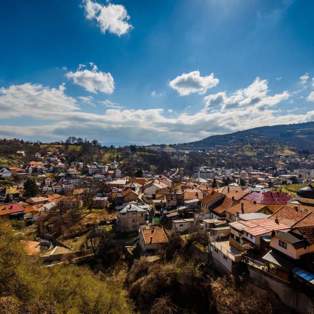 Pogled na srednjobosanski grad Travnik