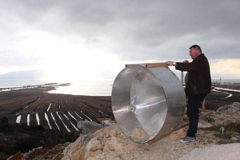 Tvrtka Alena Kvaternika izgradila je vjetroorgulje na 114 metara visokome brdu Trovro u Rogotinu