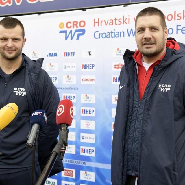 Luka Lončar i Andro Bušlje, hrvatski reprezentativci foto:Bruno Konjević / CROPIX