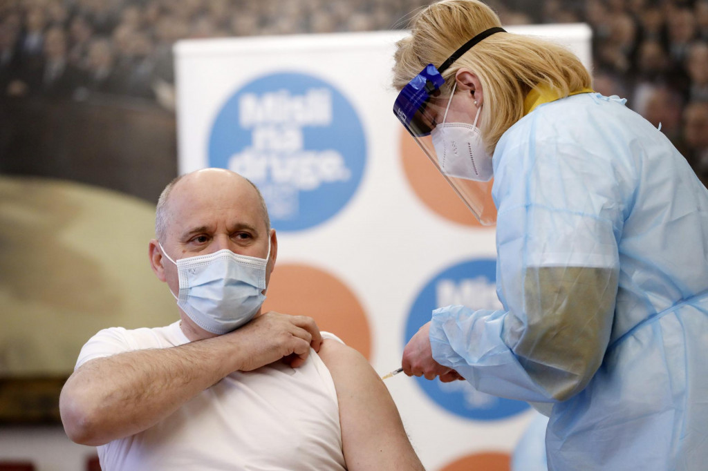 Branko Bačić 18. siječnja je primio prvu dozu cjepiva