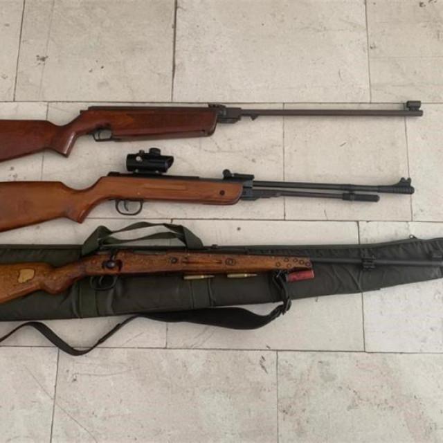 PU Dubrovačko-.neretvanska, pretraga kuće u Korčuli, oružje, streljivo