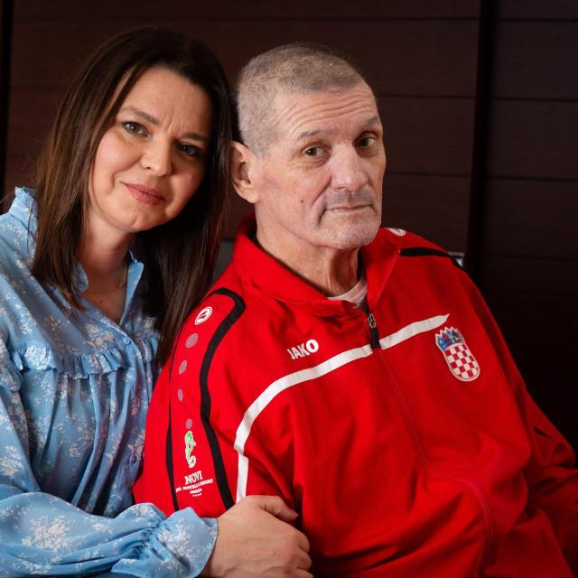 'Sve sam napravila što je bilo u mojoj moći, ali bolest je bila jača.Nije fer, bio je još potreban svojoj djeci i meni'