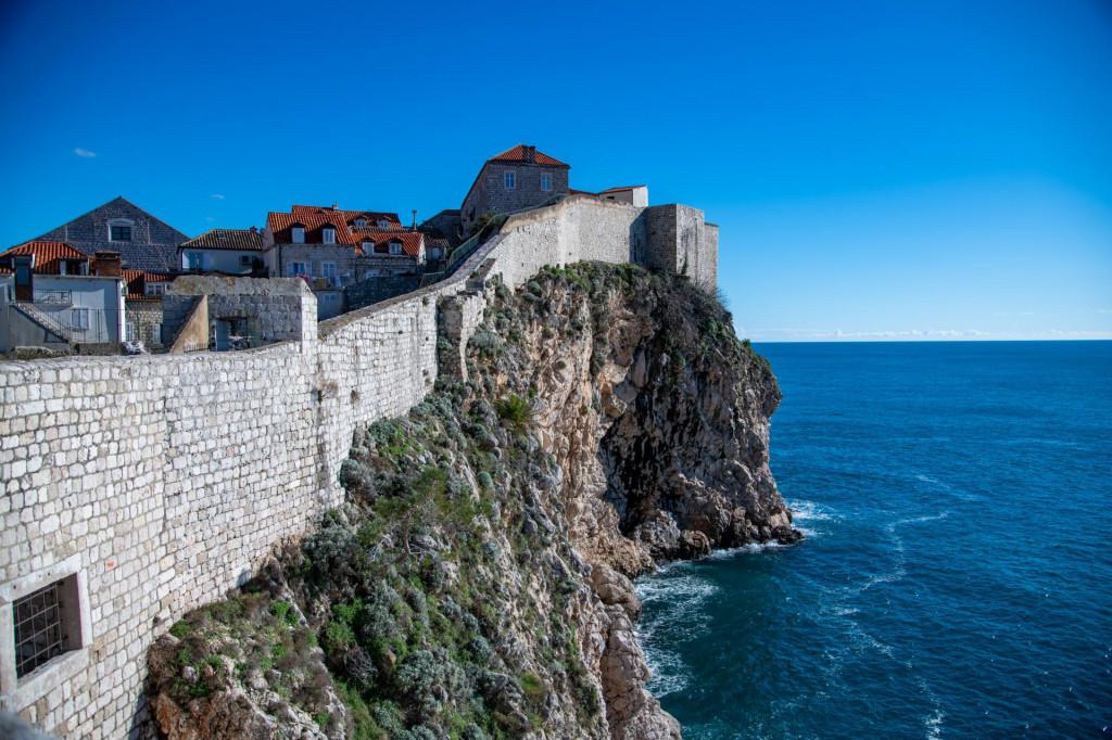 Dubrovnik, 11.02.2021. Zimska setnja praznim dubrovackim zidinama
