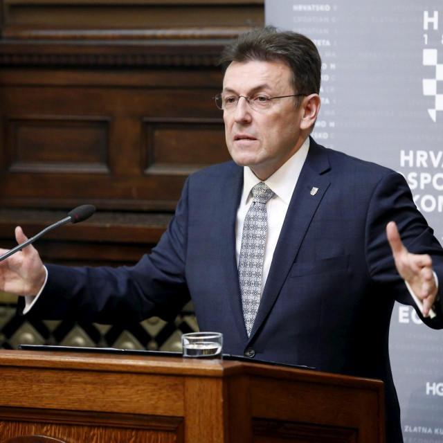 Luka Burilović, prvi čovjek HGK