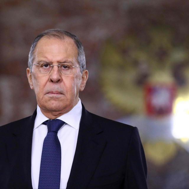 Ruski ministar Sergej Lavrov