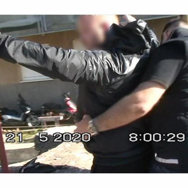 Uhićenje 'zločinačke' Deana Majstorovića iz Splita
