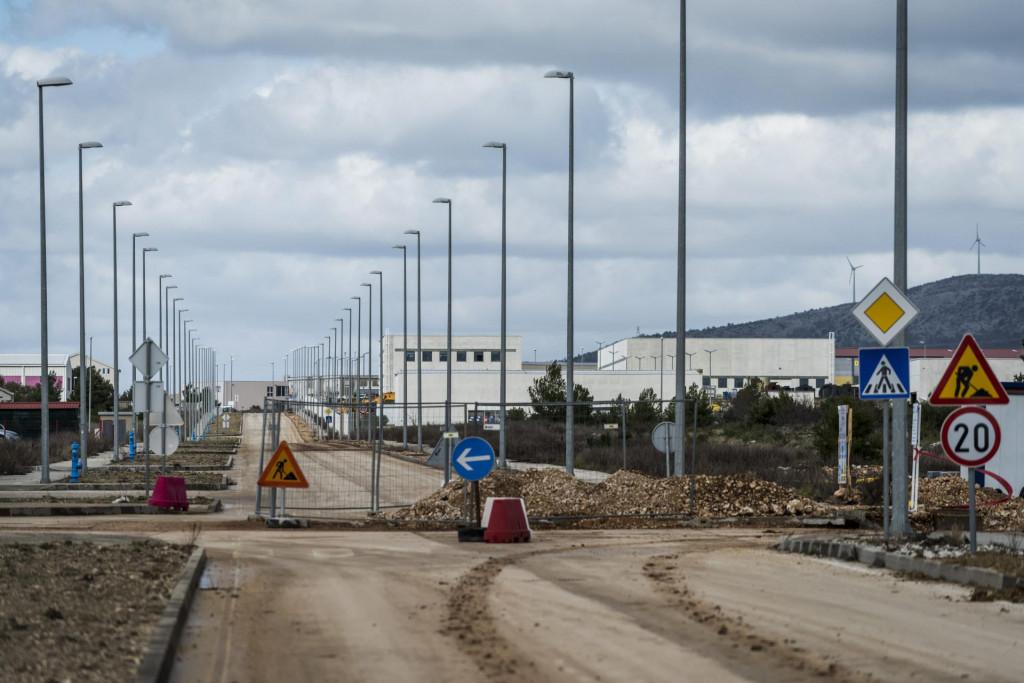 Radovi na infrastrukturnom uređenju u zoni Podi