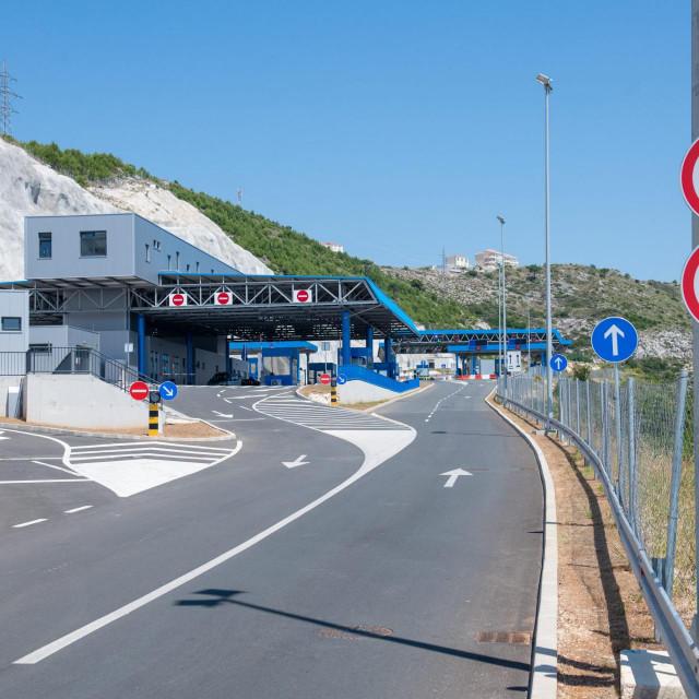 Međunarodni granični prijelaz Gornji Brgat između Republike Hrvatske i Bosne i Hercegovine<br />