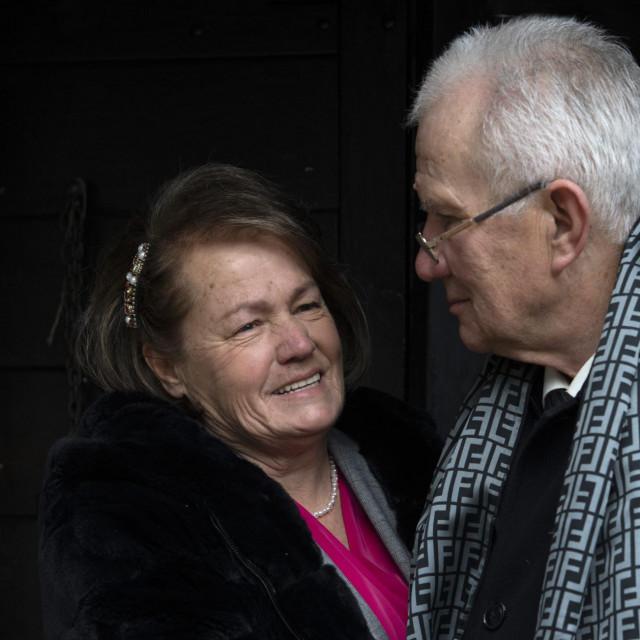 Rade i Milica Topic slave 50 godina braka