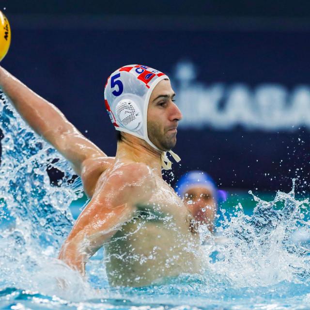 Maro Joković na olimpijskim kvalifikacijama u Rotterdamu foto: Marcel ter Bals / Orange Pictures)