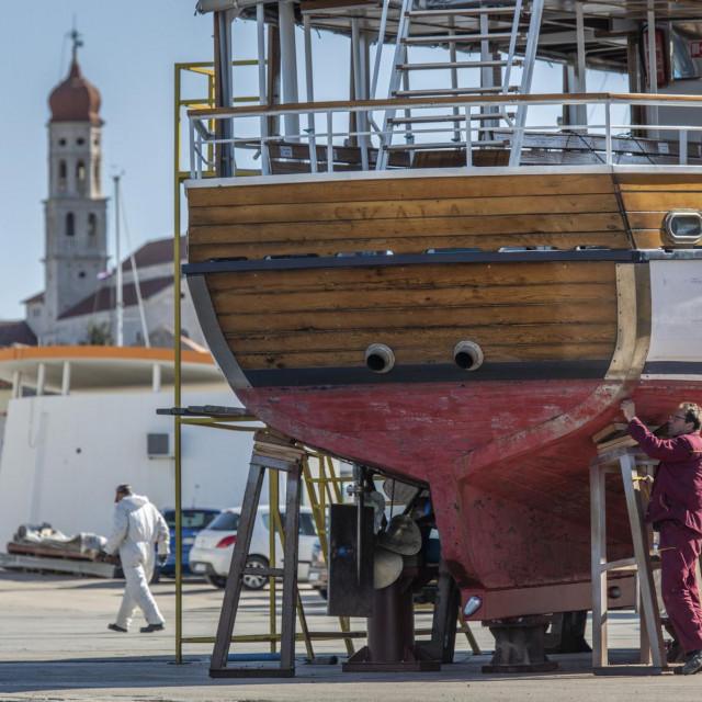 Betinjani su meštri <em>za </em>drvene brodove