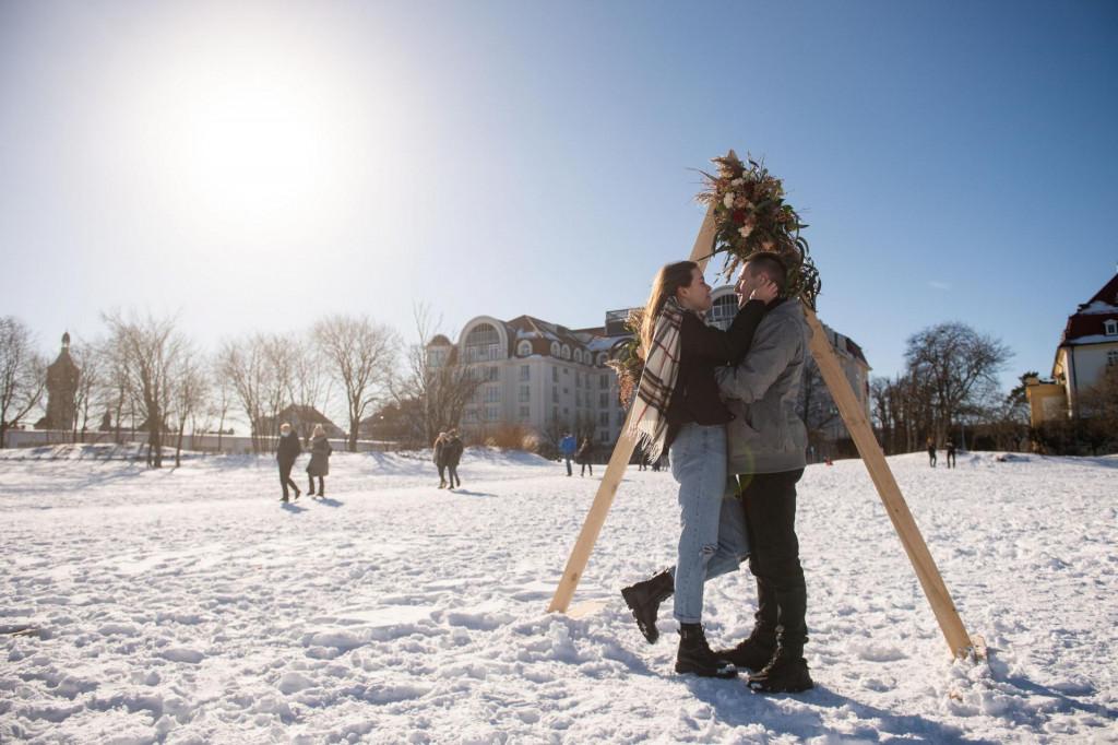 Naizgled idilična zima u Poljskoj - još da nema te korone...