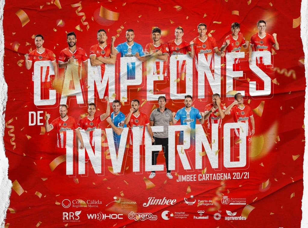 Jimbee Cartagena - jesenski/zimski prvak španjolskog prvenstva, najbolja momčad prvog dijela lige
