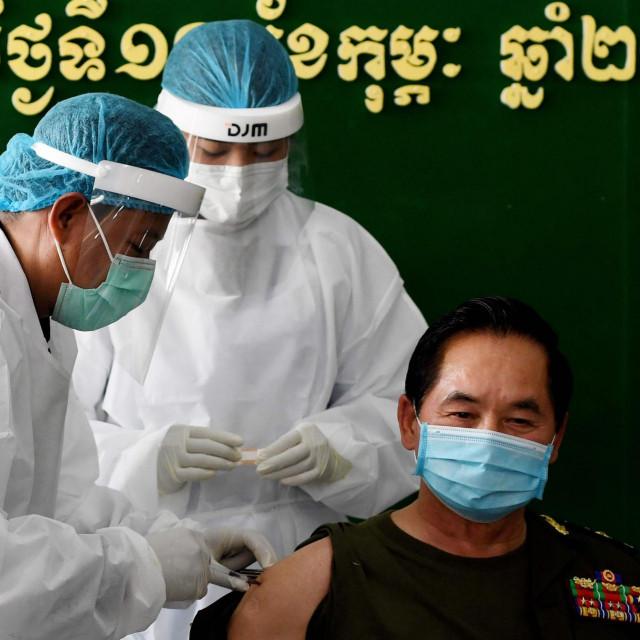 Vojka se cijepi kineskim cjepivom