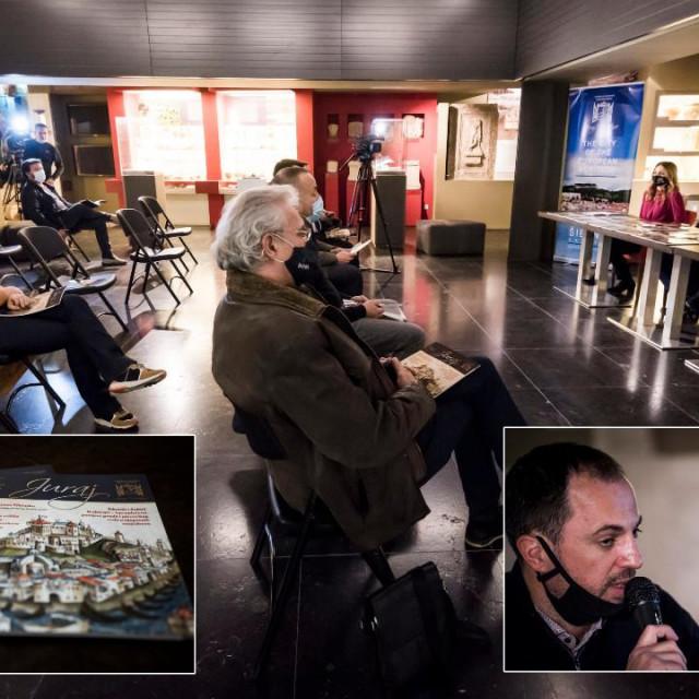 U Atriju Muzeja grada Šibenika, predstavnici Društva 'Juraj Dalmatinac' predstavili su novi broj časopisa 'Juraj'