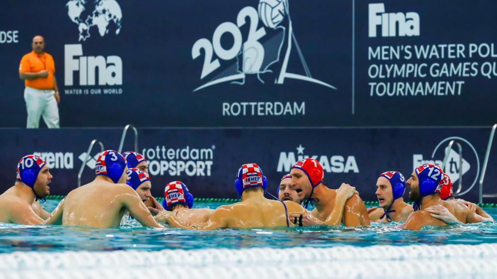 Hrvatska u Rotterdamu foto: Marcel ter Bals/Orange Pictures