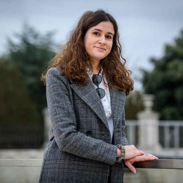 <br /> Ivana Vlaić, kandidatkinja za Šibensku grandecu<br />